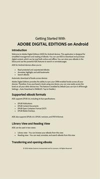 Download Adobe Digital Editions 4.5.10 APK File for Android