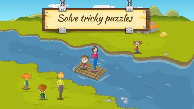 Download River Crossing IQ Logic Puzzles & Fun Brain Games 1.1.0 APK File for Android