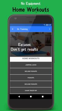Download Dr. Training - Fitness & Bodybuilding Gym Workouts 1.0.2 APK File for Android