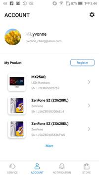 Download MyASUS - Service Center 4.1.1 APK File for Android