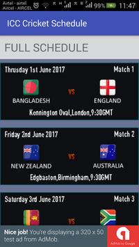 Download Champions Trophy Schedule 2.0 APK File for Android
