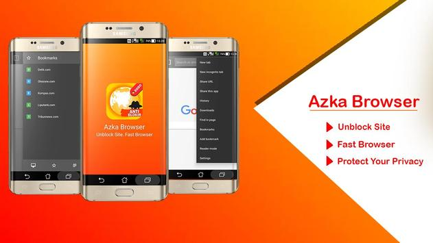 Download Azka Anti Block Browser - Unblock without VPN 18 APK File for Android