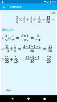 Download Fractions Calculator - detailed solution available 2.15 APK File for Android