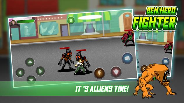 Download Little Ben Alien Hero - Fight Alien Flames 1.5 APK File for Android