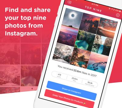 Download Top Nine for Instagram - Best of 2019 3.10 APK File for Android