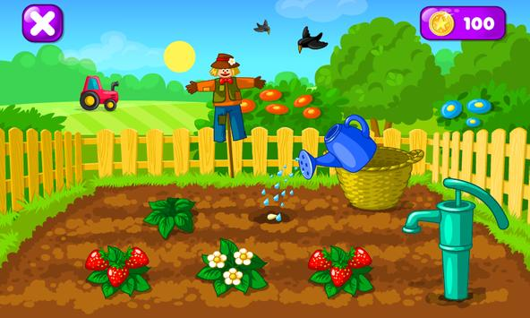 Download Garden Game for Kids 1.14 APK File for Android