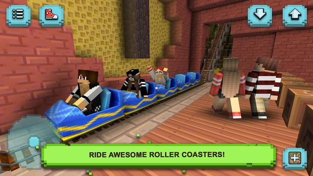 Download Theme Park Craft Build & Ride 1.42-minApi23 APK File for Android