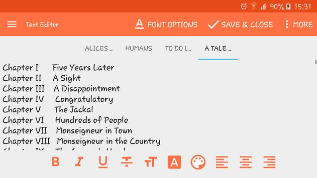 Download Text Editor 1.15.b61 APK File for Android