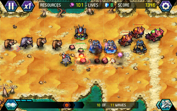 Download Tower Defense: Infinite War 1.2.4 APK File for Android