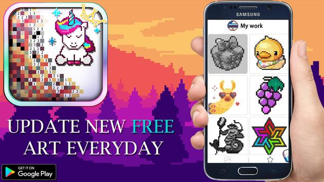 Download Unicorn of Love: The Number Coloring by Pixel Arts 1.0.0.1 APK File for Android