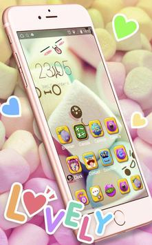 Download Cute Marshmallow Cartoon Theme 3.9.10 APK File for Android
