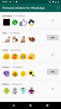 Download Personal stickers for WhatsApp 1.15 APK File for Android