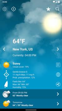 Download Weather XL PRO 1.4.5.4 APK File for Android