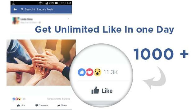 Download Like for Facebook  prank 1.1 APK File for Android