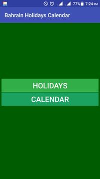 Download Bahrain Holidays Calendar 18.8.9 APK File for Android