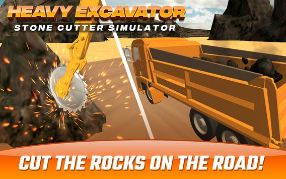 Download Heavy Excavator  Stone Cutter Simulator 8.0 APK File for Android