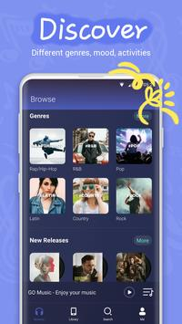 Download GO Music  -  Free Music, Equalizer, Themes 4.5.1 APK File for Android