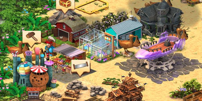 Download Volcano Island:Paradise Ville 1.3.6 APK File for Android