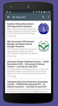 Download Latest Govt Job Alerts 1.2 APK File for Android