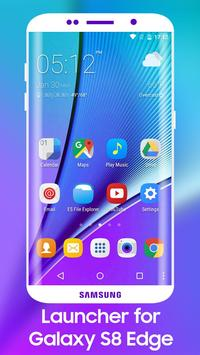 Download S8 Edge Launcher Theme 1.0 APK File for Android