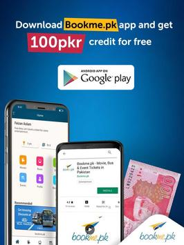 Download Bookme.pk - Movie, Bus & Event Tickets in Pakistan 8.9.5 APK File for Android