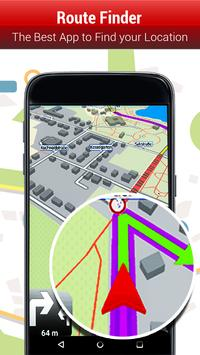 Download GPS Route Finder;  GPS Navigation Maps Directions 1.6 APK File for Android