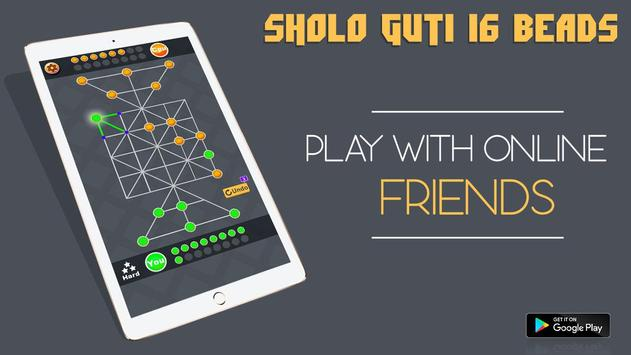Download Sholo Guti 16 Beads - tiger trap 1.0 APK File for Android