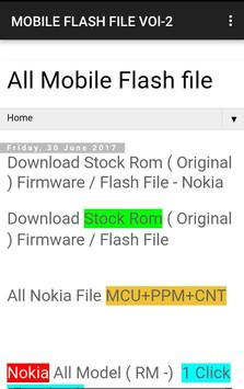 Download Mobile Flash File 1.0 APK File for Android