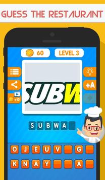 Download Guess The Restaurant Food Quiz 1.1 APK File for Android