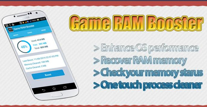 Download Game RAM Booster 2.1 APK File for Android
