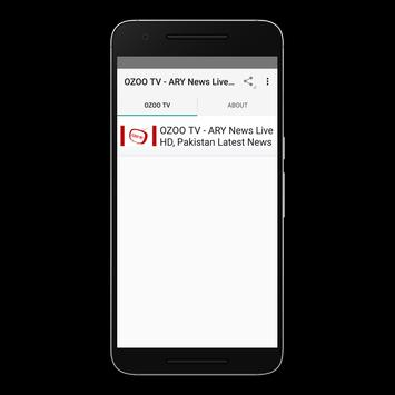 Download OZOO TV - ARY News Live HD, Pakistan Latest News 1.0 APK File for Android