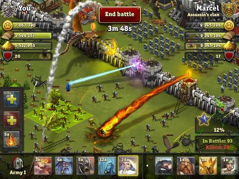 Download Throne Rush 5.22.4 APK File for Android