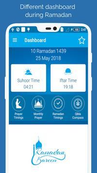 Download Ramadan Times: Azan, Prayer Times, Duas & Qibla 9.1 APK File for Android