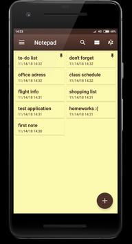 Download Notepad 2.5 APK File for Android