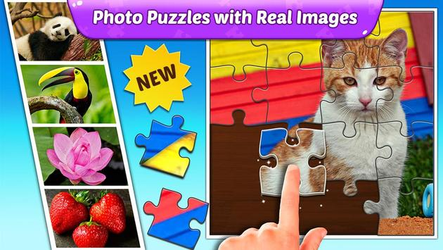 Download Puzzle Kids - Animals Shapes and Jigsaw Puzzles 1.1.6 APK File for Android