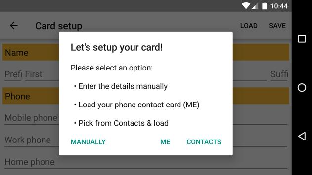 Download Business Card App 3.0 APK File for Android
