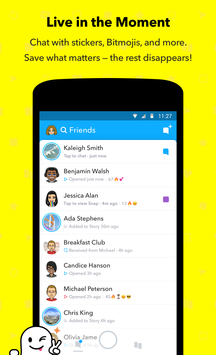 Download Snapchat 11.1.6.81 APK File for Android