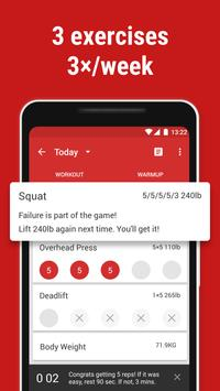 Download StrongLifts 5x5 Workout 2.6.21 APK File for Android