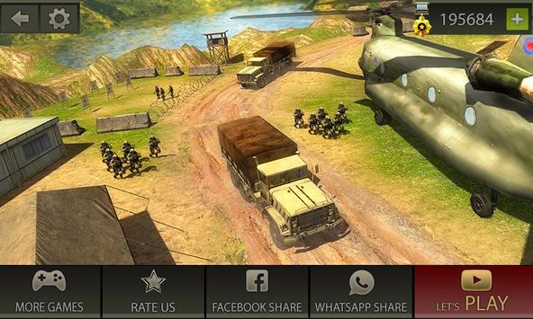 Download US Military Truck Drive: Army Vehicle Driving 2018 1.0 APK File for Android