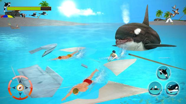 Download Killer Blue Orca Whale Attack Sim 3D: Whale game 1.2 APK File for Android