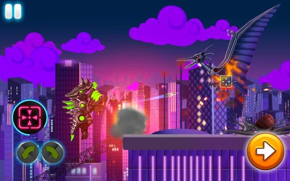 Download Dino Robot Wars: City Driving and Shooting Game 3.62 APK File for Android