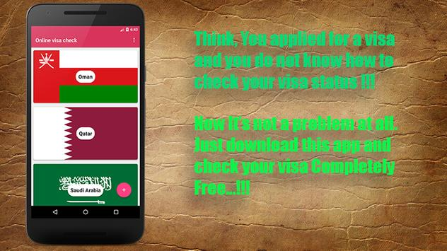 Download Online visa checking Software 4.0 APK File for Android
