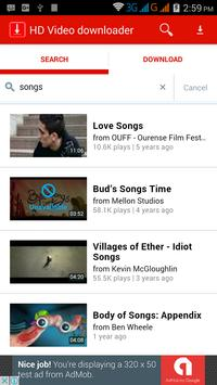 Download HD Video downloader free 1.1 APK File for Android