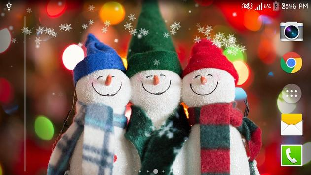 Download Christmas Snow Live Wallpaper 1.2.1 APK File for Android