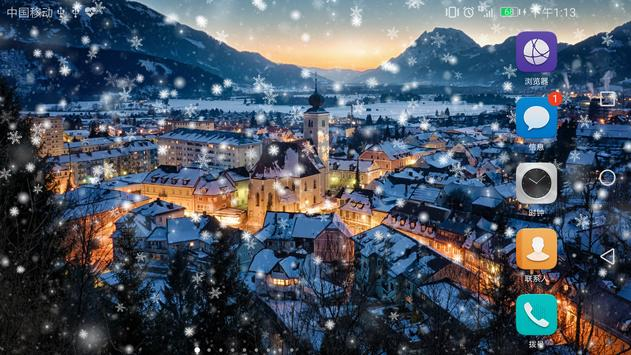 Download 2017 Christmas snow night live wallpaper 1.0.4 APK File for Android