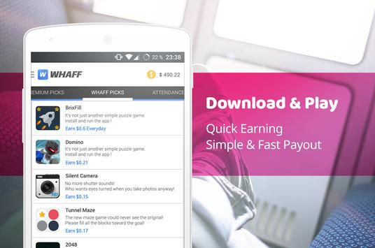 Download WHAFF Rewards 445 APK File for Android