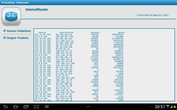 Download Cisco Router IP Accounting 1.1 APK File for Android