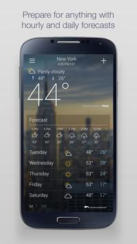 Download Yahoo Weather 1.20.7 APK File for Android
