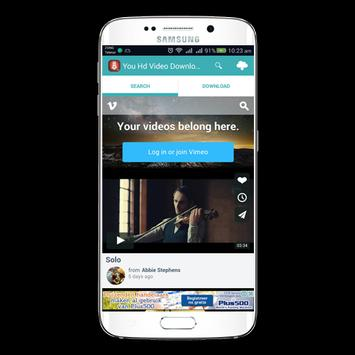 Download You HD Video Downloader 1.3 APK File for Android