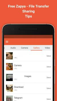Download New Zapya File Tranfer Tips 1.1 APK File for Android